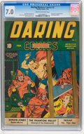 Golden Age (1938-1955):Superhero, Daring Mystery Comics #2 (Timely, 1940) CGC FN/VF 7.0 Cream to off-white pages....