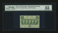Fractional Currency:First Issue, Fr. 1312 50¢ First Issue PMG About Uncirculated 55....