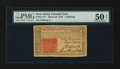 Colonial Notes:New Jersey, New Jersey March 25, 1776 3s PMG About Uncirculated 50 Net....
