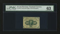 Fractional Currency:First Issue, Fr. 1240 10¢ First Issue PMG Choice Uncirculated 63....