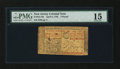 Colonial Notes:New Jersey, New Jersey April 8, 1762 £3 PMG Choice Fine 15....