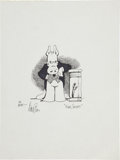"Original Comic Art:Sketches, Dave Sim Cerebus ""High Society"" Sketch Original Art(undated)...."