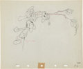 Animation Art:Production Drawing, Mickey Mouse Mickey's Rival Animation Production DrawingOriginal Art Group (Disney, 1936).... (Total: 2 Items)