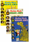 Silver Age (1956-1969):Humor, Richie Rich Dollars and Cents #2-109 File Copies Box Lot (Harvey, 1963-82) Condition: Average NM-....