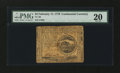 Colonial Notes:Continental Congress Issues, Continental Currency February 17, 1776 $4 PMG Very Fine 20....