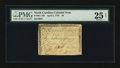 Colonial Notes:North Carolina, North Carolina April 2, 1776 $8 Rooster PMG Very Fine 25 Net....