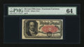 Fractional Currency:Fifth Issue, Fr. 1381 50¢ Fifth Issue PMG Choice Uncirculated 64....