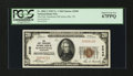 National Bank Notes:Tennessee, Knoxville, TN - $20 1929 Ty. 1 The East Tennessee NB Ch. # 2049. ...