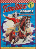 Original Comic Art:Covers, Murphy Anderson Tom Mix Comics #1 Cover Re-Creation OriginalArt (undated)....
