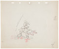 Animation Art:Production Drawing, Donald Duck Hawaiian Holiday Production Drawing AnimationArt Group (Walt Disney, 1937).... (Total: 4 )