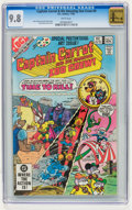 Modern Age (1980-Present):Humor, Captain Carrot and His Amazing Zoo Crew #9 (DC, 1982) CGC NM/MT 9.8White pages....