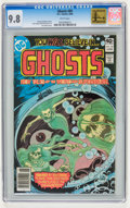 Modern Age (1980-Present):Horror, Ghosts #89 (DC, 1980) CGC NM/MT 9.8 White pages....