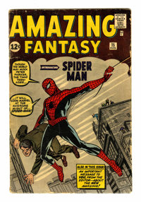 Amazing Fantasy #15 (Marvel, 1962) Condition: GD-