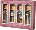 Music Memorabilia:Memorabilia, The Beatles Car Mascot Bobbin' Head Figures (Car Mascots, Inc.,1964)....
