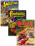 Pulps:Science Fiction, Fantastic Adventures/Amazing Stories Pulp Group (Ziff-Davis,1941-42) Condition: Average FN/VF.... (Total: 3 Items)