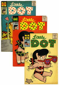 Little Dot File Copies Box Lot (Harvey, 1955-76) Condition: Average VF/NM