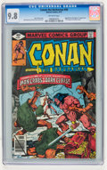 Bronze Age (1970-1979):Adventure, Conan the Barbarian #99 (Marvel, 1979) CGC NM/MT 9.8 Off-white pages....