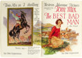 "Movie Posters:Miscellaneous, Fox Film Corporation Exhibitor's Book (Fox, 1925-1926). SoftcoverBook (9"" X 12"") (72 Pages)...."