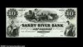 Obsoletes By State:Maine, Farmington, ME-The Sandy River Bank $10 G10 The Haxby ...