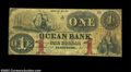 Kennebunk, ME-The Ocean Bank $1 G2b Wait-1 What a peaceful title for such a bold note. Tremendously rare does not do the...