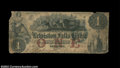 Lewiston, ME-The Lewiston Falls Bank $1 G2a Wait-20 This issued note was paid out by the FNB of Lewiston and is so stamp...