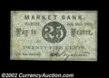 Bangor, ME- I. Wyman 25¢ July 28, 1862 Wait 235 One of the two denominations listed from this issuer in Wait. Fine-...