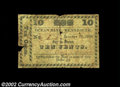 Kennebunk, ME- Unidentified Issuer 10¢ Jan. 12, 1863 Wait UNL A rare piece from an unlisted issuer in Wait. This is...