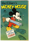 Golden Age (1938-1955):Cartoon Character, Four Color #27 Mickey Mouse (Dell, 1943) Condition: GD+....