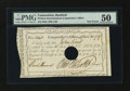 Colonial Notes:Connecticut, Connecticut Interest Certificate £1 April 30, 1789 Anderson CT-52PMG About Uncirculated 50....