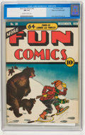Golden Age (1938-1955):Miscellaneous, More Fun Comics #38 Mile High pedigree (DC, 1938) CGC NM 9.4 Off-white to white pages....
