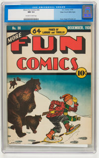 More Fun Comics #38 Mile High pedigree (DC, 1938) CGC NM 9.4 Off-white to white pages