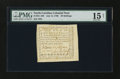 Colonial Notes:North Carolina, North Carolina July 14, 1760 20s PMG Choice Fine 15 Net....