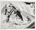 Original Comic Art:Splash Pages, John Romita Jr. and Al Williamson Spider-Man #74 DoubleSplash Page 7 and 8 Original Art (Marvel, 1996)....