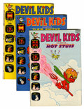 Bronze Age (1970-1979):Cartoon Character, Devil Kids Starring Hot Stuff #51-106 File Copies Group (Harvey,1971-81) Condition: Average VF+.... (Total: 56 Comic Books)