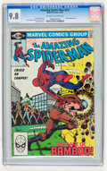 Modern Age (1980-Present):Superhero, The Amazing Spider-Man #221-223 CGC-Graded Group (Marvel, 1981)Condition: CGC NM/MT 9.8.... (Total: 3 Comic Books)