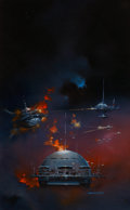 Original Comic Art:Paintings, Boris Vallejo Privateers Paperback Cover Original Art (Tor Books, 1986)....
