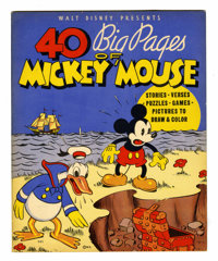 40 Big Pages of Mickey Mouse #945 (Whitman Publishing Co., 1936) Condition: VF/NM