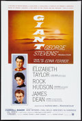 """Movie Posters:Drama, Giant (Warner Brothers, R-2005). One Sheet (27"""" X 40"""") DS. Drama.. ..."""