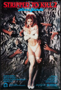 """Movie Posters:Sexploitation, Stripped to Kill Lot (Concorde/Trinity, 1988). One Sheets (2) (27""""X 41"""") and Poster (25"""" X 37""""). Sexploitation.. ... (Total: 3 Items)"""