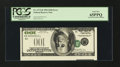 Error Notes:Inverted Third Printings, Fr. 2175-B $100 1996 Federal Reserve Note. PCGS Gem New 65PPQ...