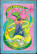 "Movie Posters:Animated, Fantasia (Buena Vista, R-1970). Poster (40"" X 60""). Animated.. ..."