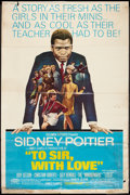 """Movie Posters:Drama, To Sir, with Love (Columbia, 1967). Poster (40"""" X 60""""). Drama.. ..."""