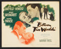 "Movie Posters:Mystery, Between Two Worlds (Warner Brothers, 1944). Lobby Card Set of 8(11"" X 14""). Mystery.. ... (Total: 8 Items)"