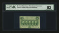 Fractional Currency:First Issue, Fr. 1312 50¢ First Issue PMG Choice Uncirculated 63....