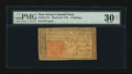 Colonial Notes:New Jersey, New Jersey March 25, 1776 6s PMG Very Fine 30 Net....