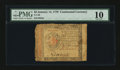 Colonial Notes:Continental Congress Issues, Continental Currency January 14, 1779 $2 PMG Very Good 10....
