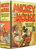 Platinum Age (1897-1937):Miscellaneous, Big Little Book #1409 Mickey Mouse (Whitman, 1937) Condition:FN....