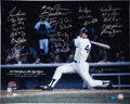 Baseball Collectibles:Photos, 1977 New York Yankees Team Signed Photograph....