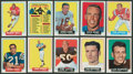 Football Cards:Sets, 1964 Topps Football Complete Set (176)...