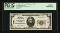 National Bank Notes:Pennsylvania, Slatington, PA - $20 1929 Ty. 1 The Citizens NB Ch. # 6051. ...